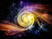 Exploderende vortex — Stockfoto