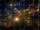 Computing Space — Stock Photo