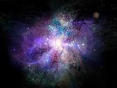 Advance of Fractal Nebulae — Stock fotografie