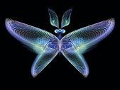 Ilusão de borboleta — Fotografia Stock