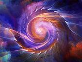 Energie vnitřního pohybu — Stock fotografie