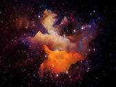 Painted Nebula — Stock Photo