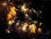 仮想カニ星雲 — ストック写真