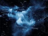 Chemistry Backdrop — Stockfoto