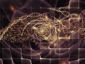 Virtual DNA — Stock Photo