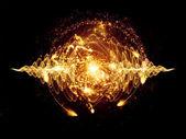 átomo — Foto de Stock