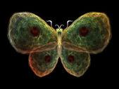 Digitální motýl — Stock fotografie
