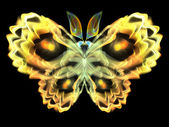 Fractal Butterfly — Foto de Stock