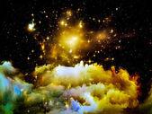 Advance of Nebula — Stock Photo