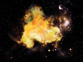 星雲のライト — ストック写真