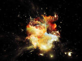 Förskott på nebulosan — Stockfoto
