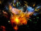 Utrymme nebulosa — Stockfoto