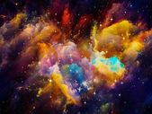 Vibrant Nebula — Stock Photo
