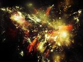 Piękne Mgławica — Zdjęcie stockowe