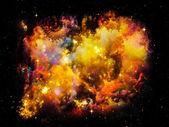Vackra nebulosa — Stockfoto