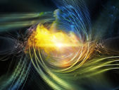 Acceleration of Vortex — Stock Photo