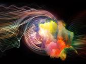 Vortice nebulosa — Foto Stock