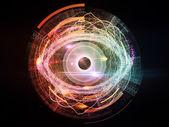 フラクタルの目 — ストック写真
