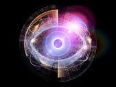 Elemento dell'occhio — Foto Stock