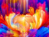 Movimiento colorido — Foto de Stock