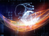 Computer Intelligence — Stock Photo