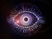 Olho de fractal — Foto Stock