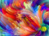 Evolução das cores — Fotografia Stock