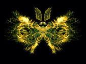 Pétalas de borboleta — Fotografia Stock