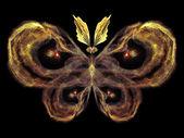 På jakt efter fjäril — Stockfoto