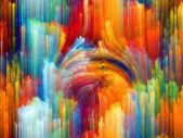波的颜色 — 图库照片