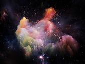 Sinergie dello spazio — Foto Stock