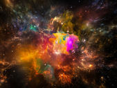 Emergence of Space — Stock Photo