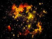 Nebulosa di spazio — Foto Stock