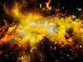 Nebula Meditations — Stock Photo