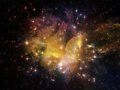 Magia di nebulosa — Foto Stock