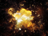 Bella nebulosa — Foto Stock