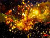 Artificial Nebula — Stock Photo
