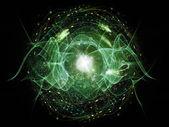 Onda cuántica — Foto de Stock