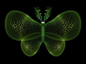 Conceptual Butterfly — Stock Photo