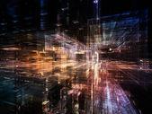 Digital City — Stock Photo
