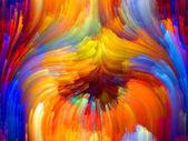 Zmieniających się kolorów — Zdjęcie stockowe
