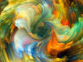 Unfolding of Color — Stock Photo