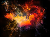 Unfolding of Space — Stock Photo