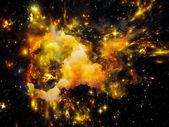Cosmic Nebula — Stock Photo