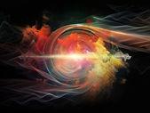 Vortex in Space — Foto Stock