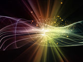 Energy of Fractal Realms — Stock Photo