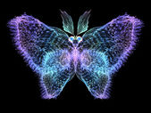 Schmetterling-elemente — Stockfoto