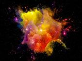 Levendige ruimte — Stockfoto