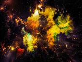 Virtual Crab Nebula — Stock Photo
