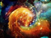 Beautiful Nebula — Stock Photo